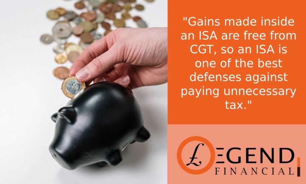 Availing ISA allowance