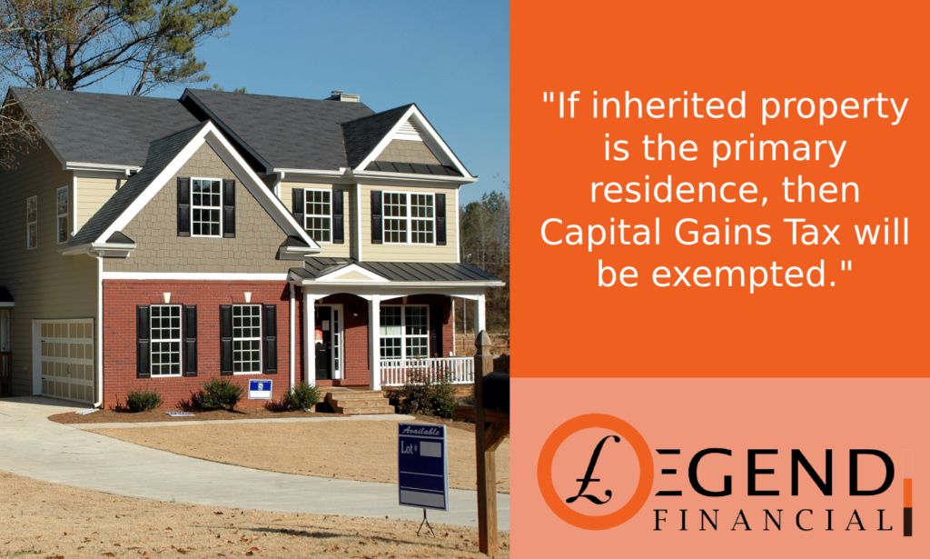 Tips to Avoid CGT on Inherited Property