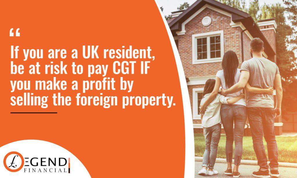 CGT on Overseas Property