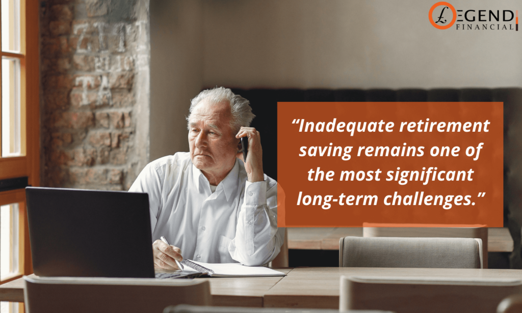 Inadequate retirement saving