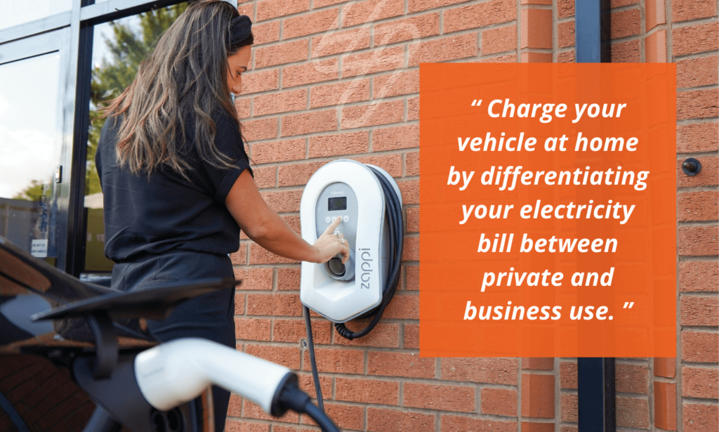Charge your vehicle by differentiating your electricity bill