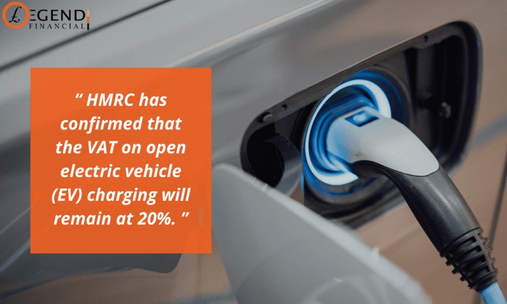 VAT on open electric vehicle (EV)