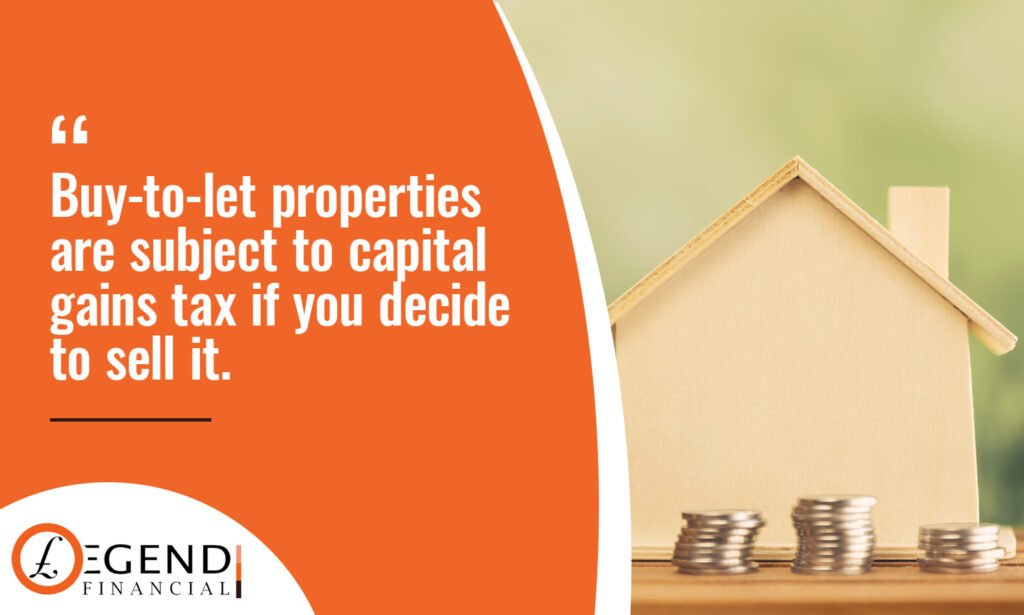 Capital Gains Tax when selling a Buy-To-Let Property